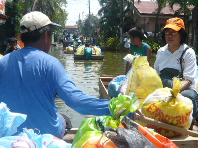Typhone ondoy relief response progress report from ncy for Patakha bano food mat